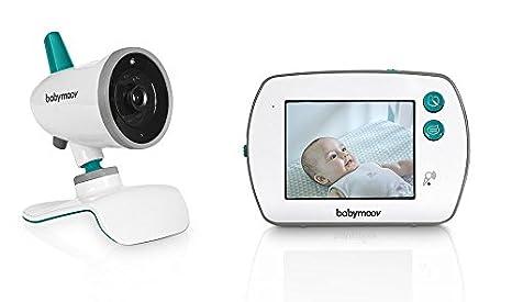 Babymoov YOO Feel Vigilabebé con Cámara - Pantalla LCD Táctil de 3.5