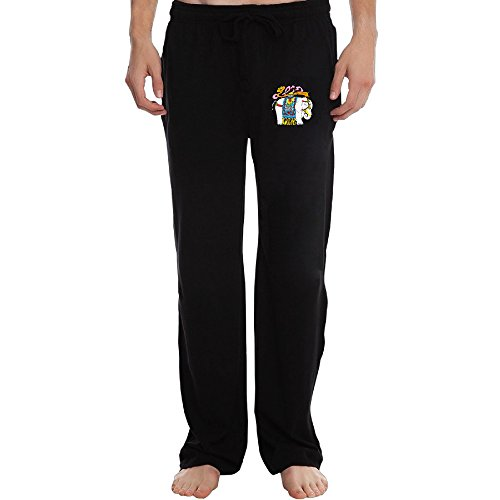 Price comparison product image ZOENA Cool India Treasure Elephant Poster Workout Pants For Men Black Size 3X