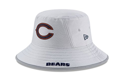 Bears Training Camp - New Era NFL 2018 Training Camp Sideline Bucket Hat - Gray (Chicago Bears)