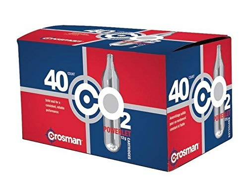 : Crosman 12 Gram CO2 (40 Cartridges)