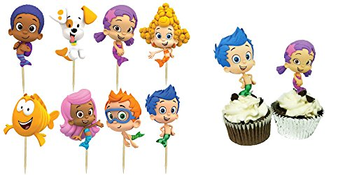 Guppies Cupcake Toppers