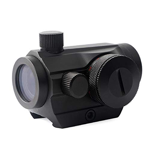 Gogoku Red Dot Sight Reflex Sight Adjustable Red and Green Illuminated Reticle Green Dot Gun Scope with Mount for 20mm Rail