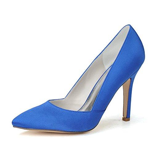 De Plus YC Forme amp; Et Des amp; Pointe Toe 03 Chaussures blue Disponibles F0608 De Pompes Plate Talon L Chaussures Femmes Mariage Pointage Des Couleurs R6qdw11