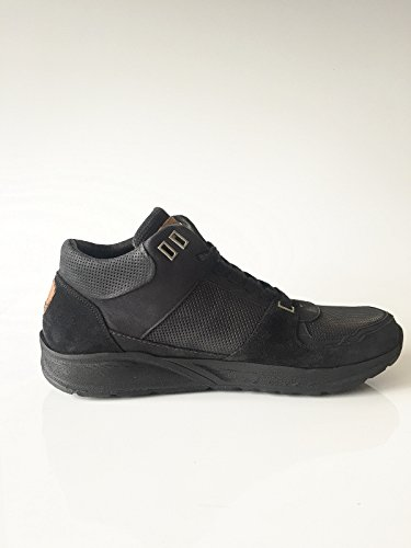 le coq sportif Herrenschuh Sneaker Mid Echtleder schwarz Größe 41