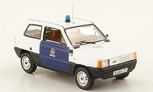 Seat Panda, Guardia Urbana, policia Barcelona , 1981, Modelo de Auto, modello completo, Norev 1:43
