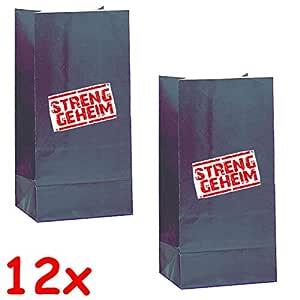 12 bolsitas de fiesta * Detective Flo - Streng geheim ...