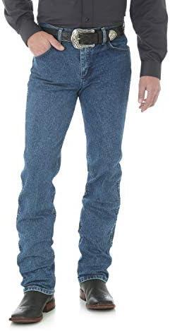 6c8b2036562 Wrangler Men s Premium Performance Cowboy Cut Slim Fit Jean