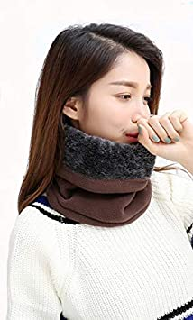 Marina Yuson Girl Scaldacollo in Pile Funzioni Multiple Beanie Mask Cervicale Warmies Antivento Invernale Bici Moto Ciclismo Snowboard Sci Running Thermico Neck Warmer