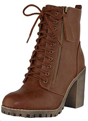 Ladies Moto Boots - 8