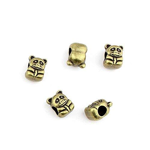 Bronze bear bead