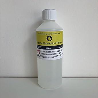 190 Proof Non Denatured Food Grade Grain Alcohol - 16oz