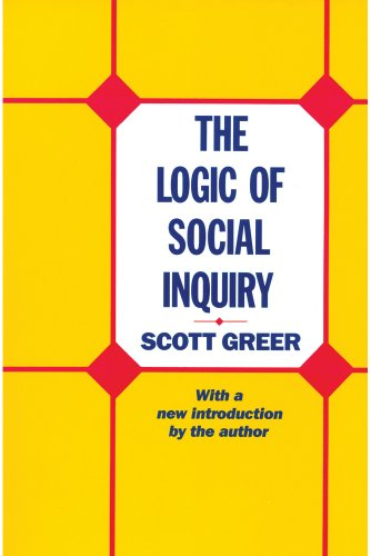 Book cover from The Logic of Social Inquiry by Scott Greer