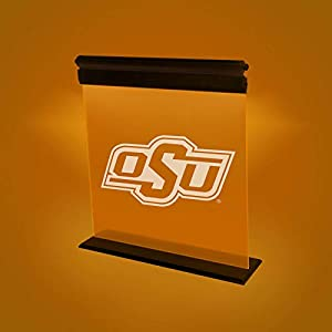 OKLAHOMA STATE COWBOYS ACRYLIC LED LIGHT DISPLAY MAN CAVE OFFICE
