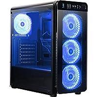 Centaurus Warlock 2.1 Gaming Computer - Intel Core i5 7600K 4.4GHz OC, 16GB DDR4 RAM, Nvidia GTX 1060 6GB, 240GB SSD + 1TB HDD, Windows 10 PRO, WiFi, Aftermarket cooler.