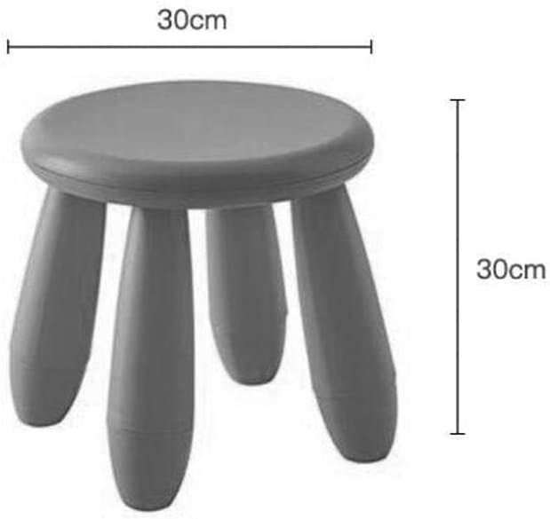 Zplyer Children'S Stool Portable Footrest Foldable and Durable Is Very Suitable for Children and Adults Outdoors Children'S Stool Plastic Bench Stool White Red