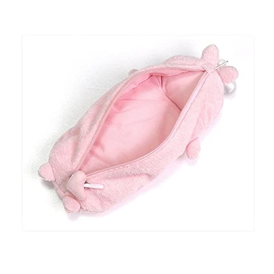 Molang Rabbit - Pink   10 Inch   Kawaii Pencil Case 4