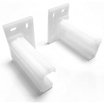 Rear Mounting Bracket Plastic For White Epoxy Drawer
