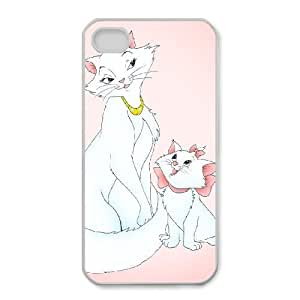 iPhone 4,4S Phone Case Cartoon AristoCats Protective Cell Phone Cases Cover DFJ117112