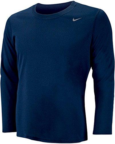 Nike Womens Long Sleeve Legend Shirt Navy M