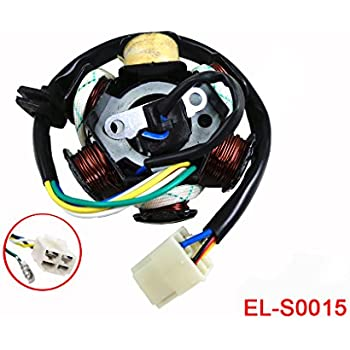 Amazon com 5 WIRES MAGNETO STATOR for Chinese made 50cc