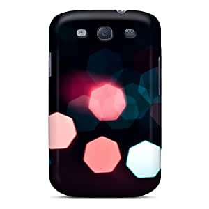 For Galaxy S3 Protector Case Lights 7 Phone Cover