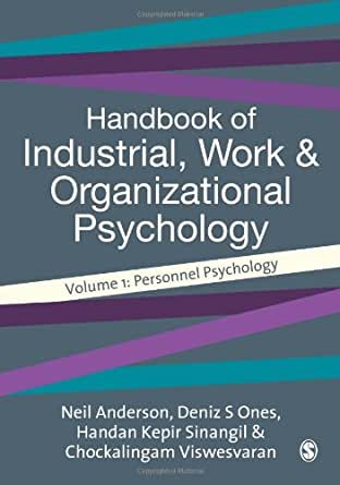 Organizational Psychology toefl customer service