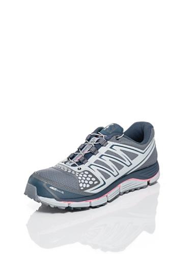 SALOMON - Chaussures Trail Femmes - XR CROSSMAX 2 CS W Gris/Rose