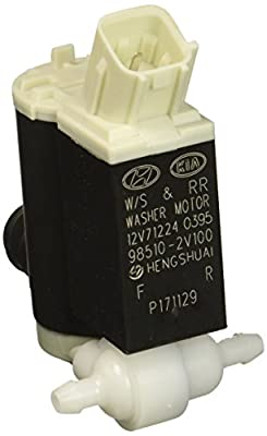 Genuine Hyundai 98510-2V100 Windshield Washer Motor and Pump Assembly