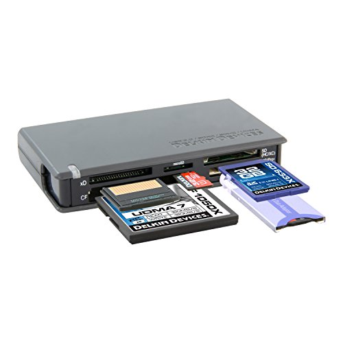 Delkin USB 3.0 Universal Memory Card Reader (DDREADER-42) ()
