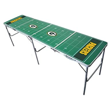 Green Bay Packers 2x8 Tailgate Table by Wild Sports