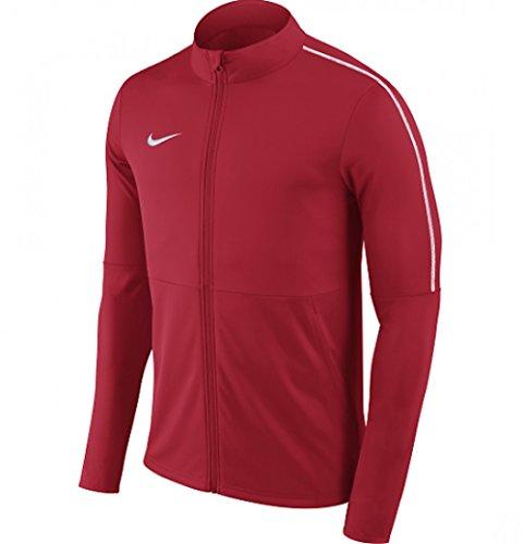 Nike Men Sport Jackets (NIKE Park 18 Knit Track Jacket Men's (University Red, S))