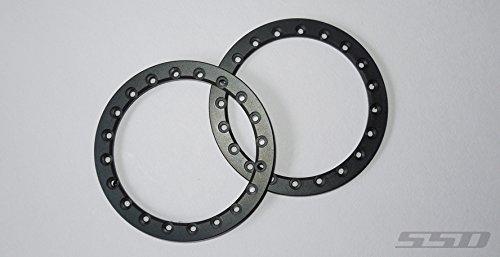 "Ring Beadlock 2.2 (SSD RC 2.2"" Black Beadlock Front Rings (2))"