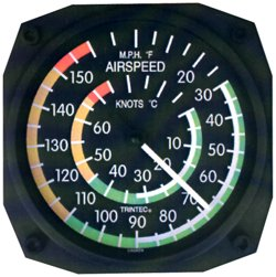 (Air Speed IND Wall Thermometer)
