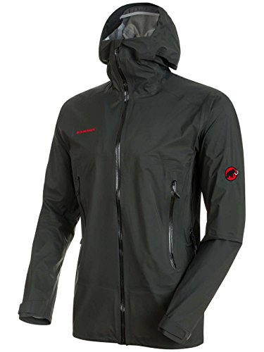 Mammut Masao Light HS Hooded Jacket - Men's Graphite Small from Mammut