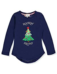 Poof Little Girls' L/S Top