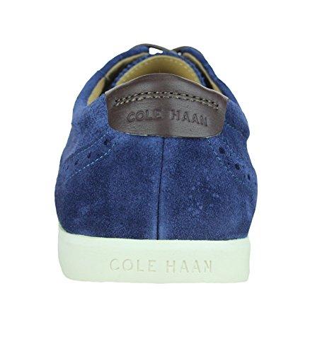 Giacca Sportiva Da Uomo In Joshua Sneaker Con Stringhe In Pelle Scamosciata Blu