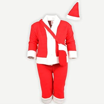 eca7fe408f9c Buy Christmas Santa Claus Fancy Dress Costume for Xmas Party for Boy ...