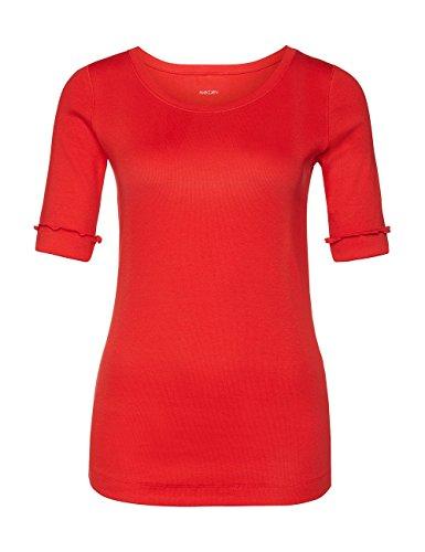 Marc Cain Essentials, Camiseta para Mujer Rot (scarlet 272)
