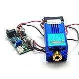 Powell Lens + High Power 445nm 450nm Blue Laser Line Module 12V TTL/Fan Cooling/Long Working (450MD-2000)
