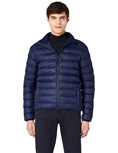 High MERAKI Navy Neck Jacket Blue Men's Puffer rqRtwUr