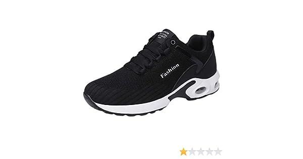 ZARLLE Zapatillas Running Hombre Nuevos Zapatos para Hombre Flying ...
