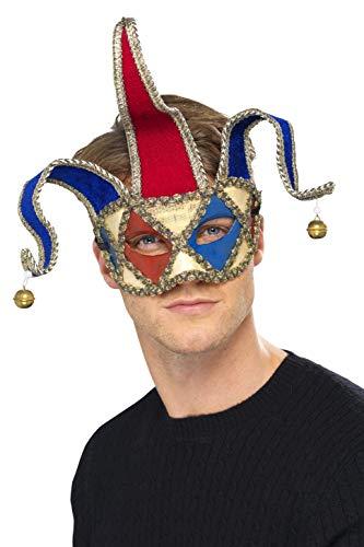 (Venetian Musical Jester Eyemask Costume)