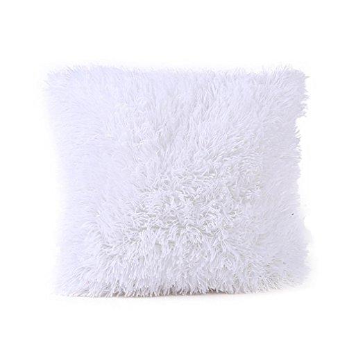 ZARU Kopfkissenbezug Sofa Taille Wurfkissenbezug (Weiß)