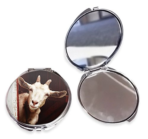 Duke Gifts Goat Animal Compact Mirror