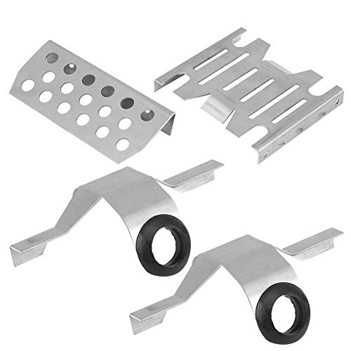 Metal Chassis Axle Guard Plate for 1//8 Scale RC Traction Hobby KM2 Truck Crawler