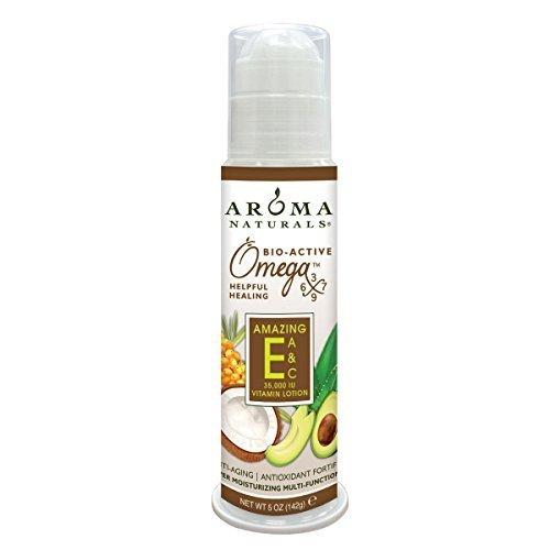 Aroma Naturals Vitamin E Lotion (Super Moisturising, Eco-...