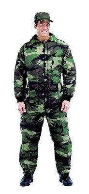 insulated camouflage coveralls - 8