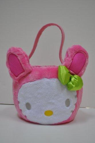 Hello Kitty Plush Head Easter / Halloween Holiday Basket