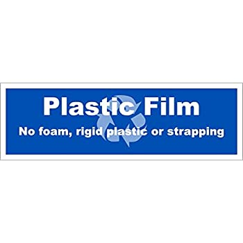 Recycle Plastice Film decal 3.5