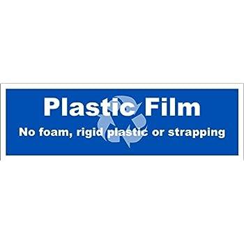 Recycle Plastice Film decal 3.5